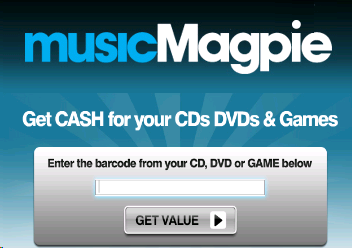 MusicMagpie - Sell CDs, DVDs & Games for Cash